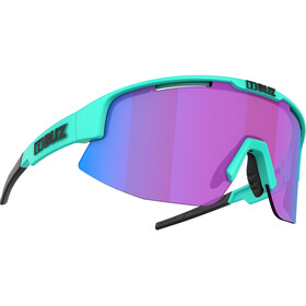 Bliz Matrix Nano Optics Nordic Light Brille matt turquoise/begonia with blue multi